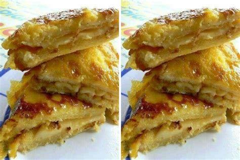 penyediaan sarapan lebih mudah  roti bakar telur