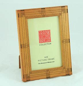 Frank Lloyd Wright Picture Frame frank lloyd wright inspired walnut picture frame 4 x 6 by