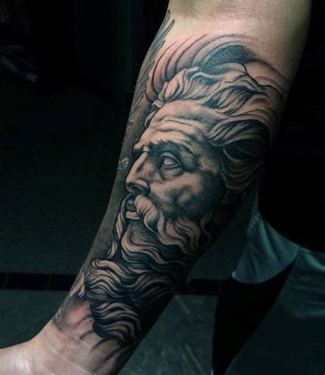 greek mythology sleeve tattoo designs 80 zeus designs for a thunderbolt of ideas