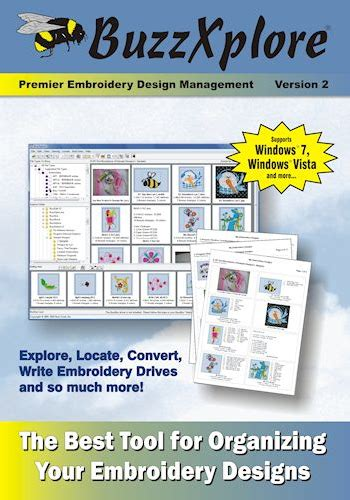 embroidery design management software buzz tools buzzxplore embroidery design management software