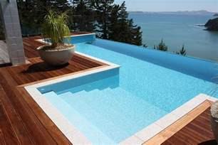 Stamped Concrete Patio Pros And Cons Above Ground Pool Decks 40 Modern Garden Swimming Pool