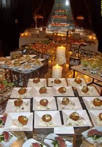 wedding reception buffet catering creations 187 archive 187 wedding reception hors