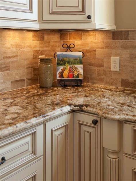 Tuscan Kitchen Countertops by Traditional Tuscan Kitchen Makeover Corner Nook