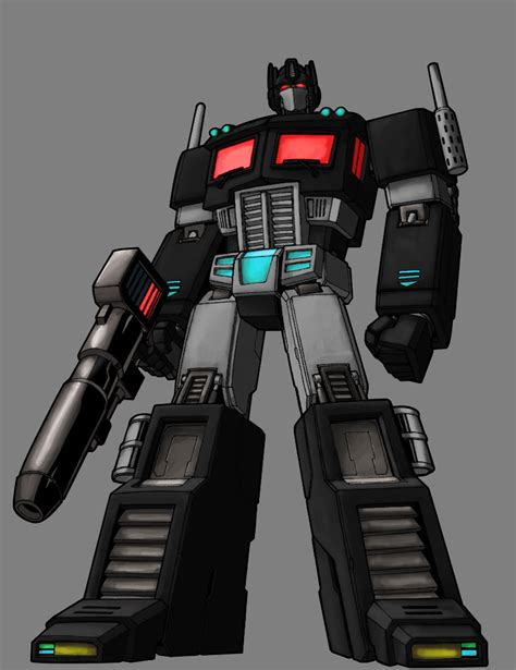Transformers Nemesis Prime g1 nemesis prime by palettepix on deviantart