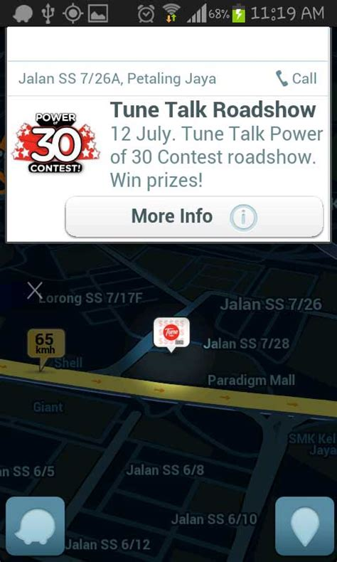 tune talk new year advertisement waze ads review