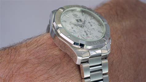 TAG Heuer Aquaracer 300M Calibre 45 Automatic Chronograph 43mm   Escapement Magazine   Watch