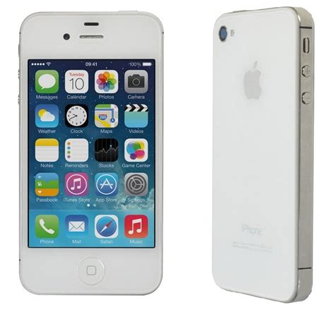 apple iphone 4 32gb wifi verizon page plus smartphone white ebay