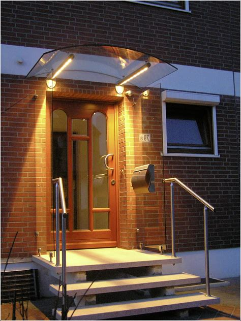 Vordach Mit Beleuchtung by Edelstahl Vordach Mit Beleuchtung Beleuchthung House