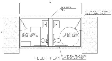 restroom floor plan restroom accessibility ada handicap bathroom floor plans