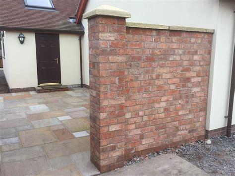 Reclaimed Brick Garden Walls Reclaimed Wirecut Brick Garden Wall