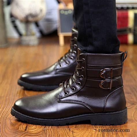 billige stehlen boots herren leder winter stiefel casual martin stiehlt
