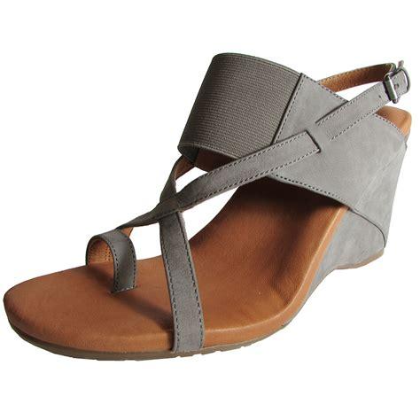 gentle souls womens irwin nu wedge open toe dress sandal