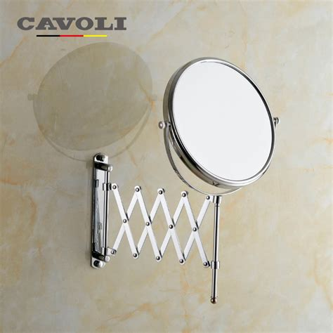 branded bathroom fittings cavoli 8 inche 2 face magnifying bath mirrors brass