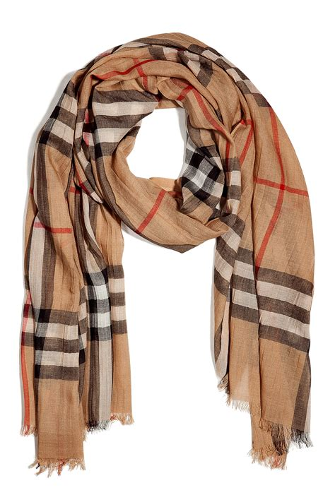 how much is a burberry scarf cost