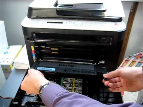 how to reset samsung printer clx 3185 okm2000 de samsung clx 3185 3175 tonerwechsel kopierer