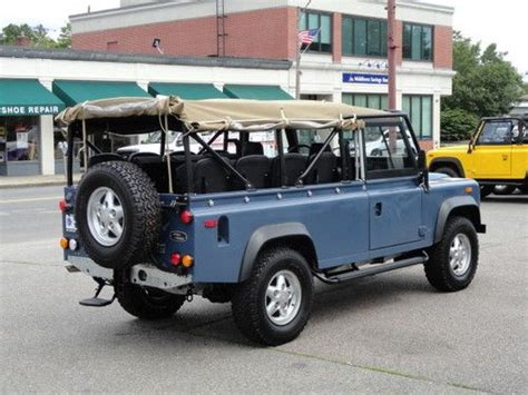 land rover defender 110 convertible sell new 1994 land rover defender 110 convertible