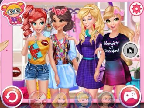 princesses bffs selfies juego  en juegosjuegos