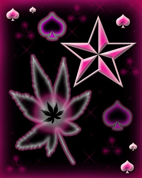 Girly Weed Wallpaper | pink weed girly quotes quotesgram