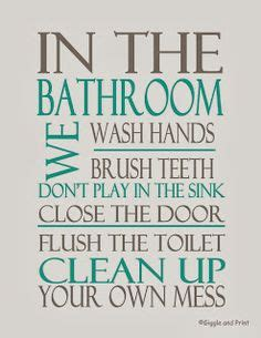 bathroom rules printables bathroom rules free printable house search and house rules
