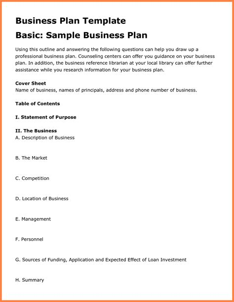 10 best images of day care business plan pdf child center