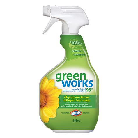 clorox green works natural  purpose cleaner grand toy