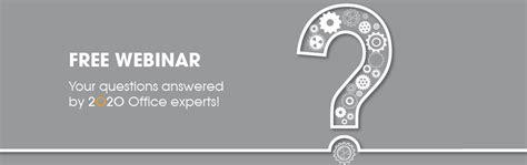 design expert forum recording available ask a 2020 office design expert 2020