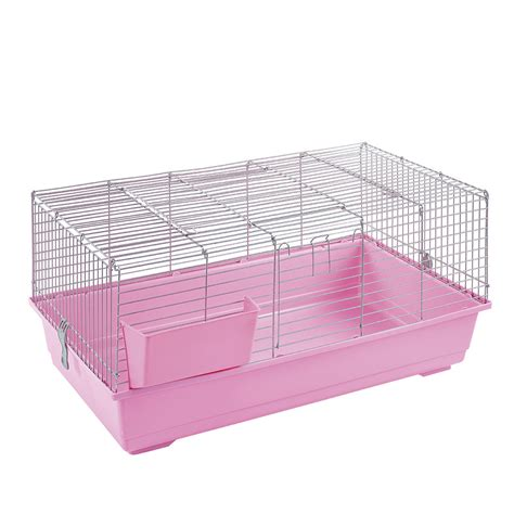 Guinea Pig Hutch Indoor rabbit guinea pig indoor cage hutch 80cm 100cm 120cm 80 100 120 new pink silver ebay