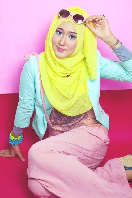 tutorial jilbab pashmina tipis hijab pashmina