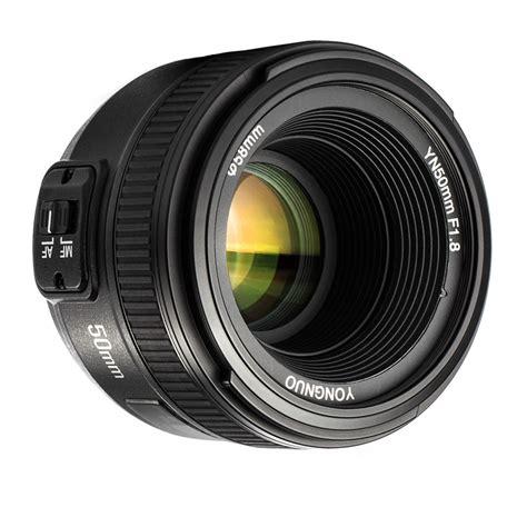 Lensa Yongnuo 50mm F1 8 For Nikon Auto Focus Diskon yongnuo yn50mm f1 8 yn ef 50mm f 1 8 af lens yn50 large aperture auto focus for nikon dslr