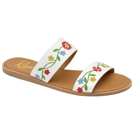 Flat Shoes Merah 3 buy ravel flat sandals in white leather