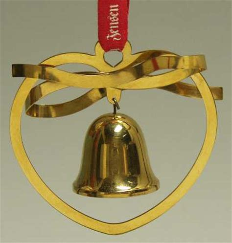 georg jensen denmark annual christmas mobile ornament
