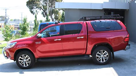 Hilux Canopy Roof Rack toyota hilux oem canopy roof rack