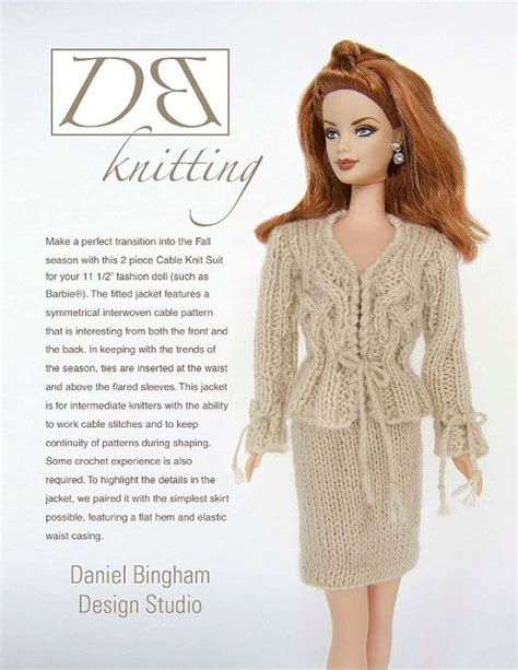 knitting pattern barbie clothes 17 best images about dolls crochet or knitted clothes on