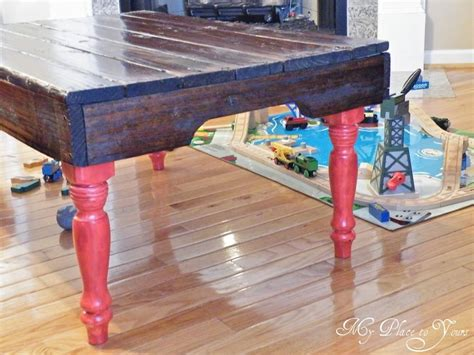 Painted Pallet Coffee Table 15 Pallet Coffee Tables That Look Way To Be Diy Hometalk