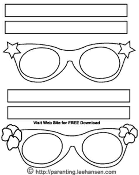printable star glasses sunglass template printable www pixshark com images