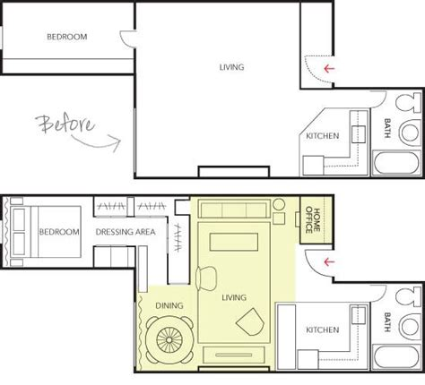 500 square foot house floor plans high resolution house plans under 500 square feet 4 under
