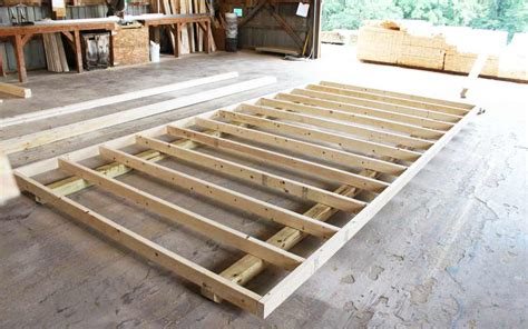 how to build floor how we build your shed mini barns storage sheds garages