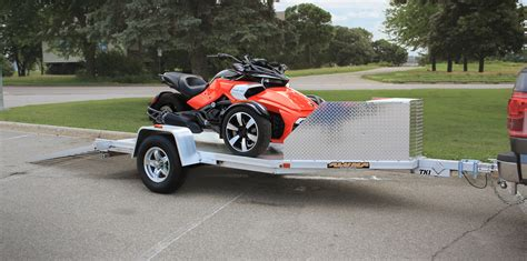 motocross bike trailer tk1 trike trailer motorcycle trailers
