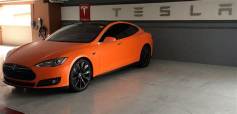 Orange Tesla Model S Tesla Forum Alt Om Tesla Model S Tesla Model X