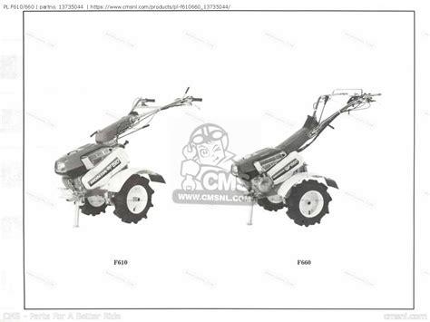 free download parts manuals 2012 honda fit instrument cluster 13735045 pl f610 660 parts manuals 13735044