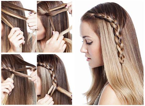 diy hairstyles for shoulder length diy fashionable braid hairstyle for shoulder length hair