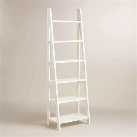 bookcase white white lacquer josephine bookcase world market