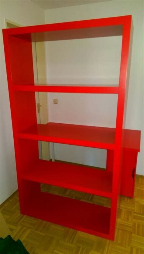 schreibtisch rot lack ikea regal rot kaufen gebraucht und g 252 nstig