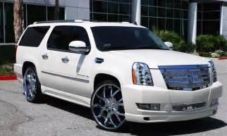 All White Cadillac Lexani Wheels The Leader In Custom Luxury Wheels 2011