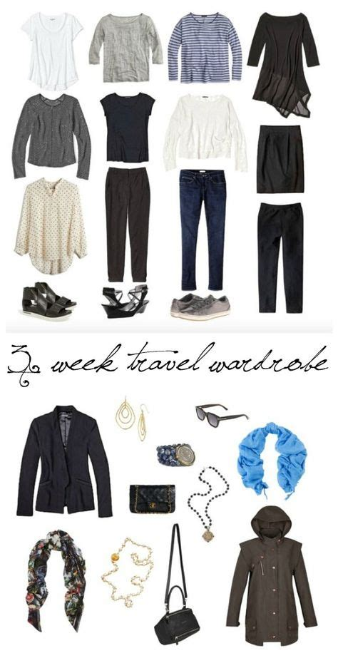 1000 ideas about travel wardrobe on capsule
