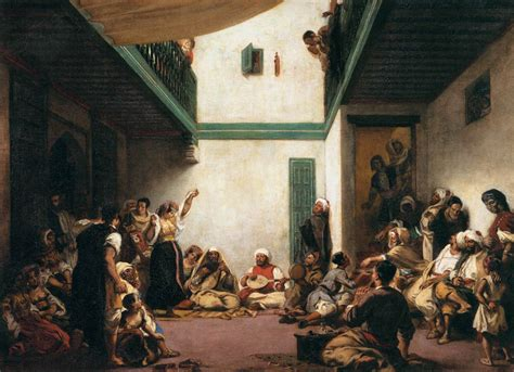 moroccan art history art history news delacroix s influence the rise of