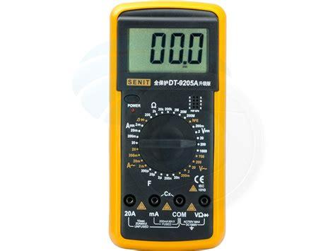 Multitester Digital Excel Dt9205a professional digital multitester ammeter voltmeter