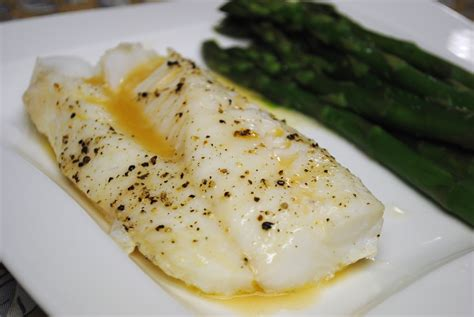 baked cod with white wine reduction leftovers for lunch