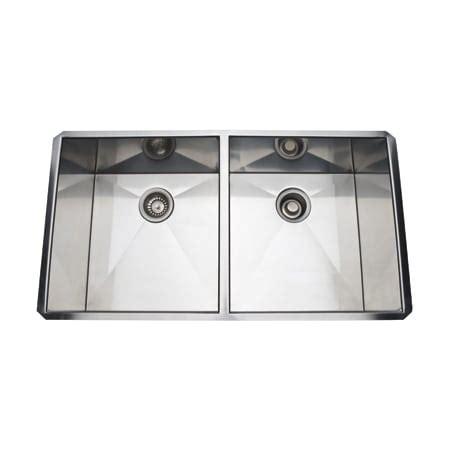 Kitchen Sink Royal Sb 50 rohl rss3518sb brushed stainless steel 35 quot 50 50 basin stainless steel kitchen sink