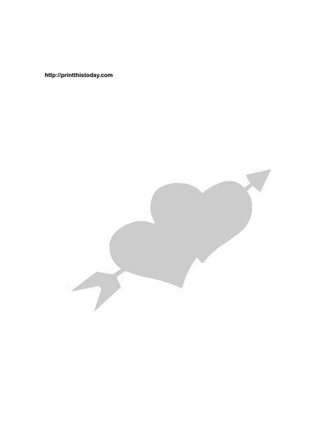 printable valentine stencils free printable love stencils
